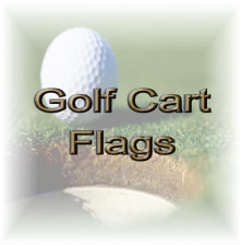 Golf Cart Flags